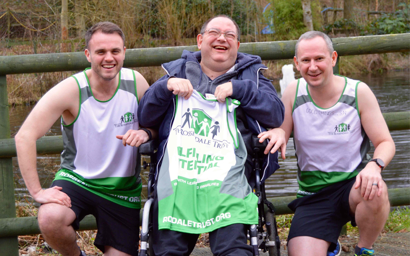Trevor and the Manchester 10K