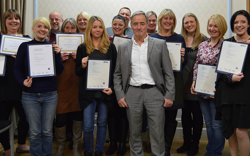 An Evening of Celebration for Rossendale Staff